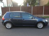 VW GOLF MATCH TDI in Graphite Blue in Good Condition with Full Service History 2007