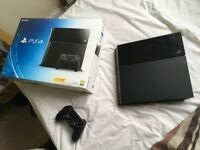 PS4 500 Gb in box great condition