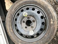 "BMW 3 Series / 1 Series spacesaver spare Wheel 16"" And Tyre"