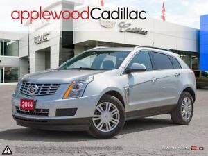 2014 Cadillac SRX Luxury ONE OWNER, AWD, DRIVERS AWARENESS PA...