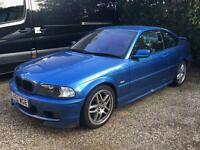 BMW E46 SSG 330CI M-SPORT COUPE SMG ESTORIL BLUE