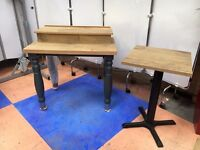 2 New Catering Table/Condiments Table Catering Table 900 x 600 & 500 x 500 Table