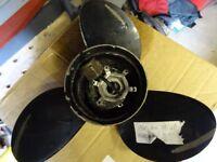 Mercury outboard propeller. 13 X 17