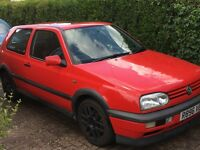 Volkswagon Golf MK3 GTI 2.0 20th anniversary BBS edition 3door 12 months MOT