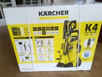 Karcher K4 Full Control Pressure Washer with Home Kit (incl T350 Patio Cleaer)
