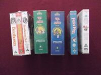 Childrens VHS Video Film Box sets and Singles