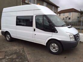 11 Ford Transit 115 T350L Crew Van