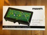 Mini Golf Table