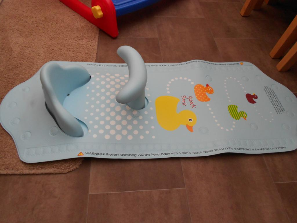 Baby Bath Mat With Safety Seat images