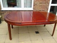 Rosewood Dining Table seats