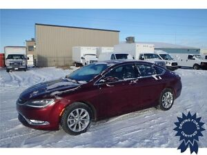 2015 Chrysler 200 C - Remote Start, 27,199 KMs, Leather Seats