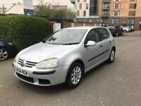 2005 VOLKSWAGEN GOLF MANUAL 1.6 PETROL
