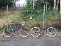 Bikes for sale - 1 x Men's and 1 x Women's Bicycle both restored - Hackney or Battersea Location