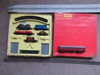 triang hornby train set etc