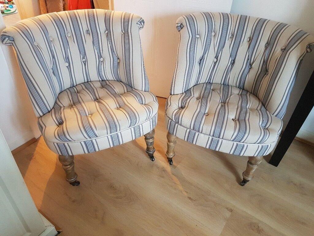 2x Homesense Chairs In Somerset Gumtree