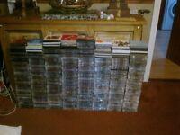 OVER 750 MUSIC CD'S