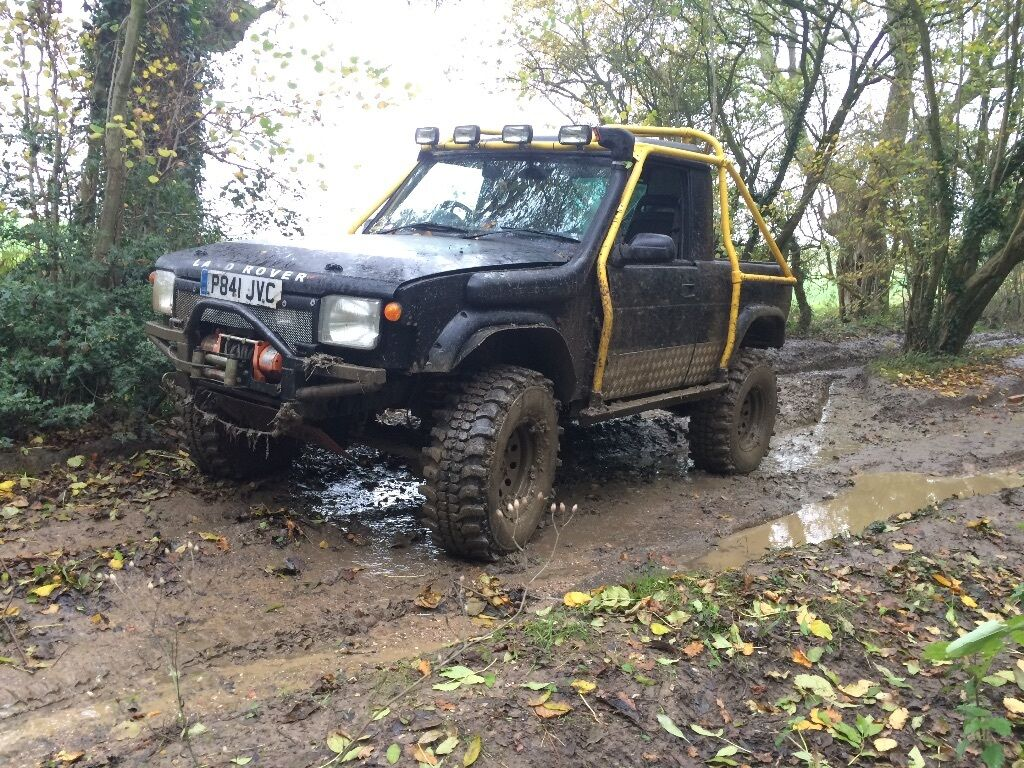 Land Rover Discovery 300tdi Bobtail Pick Up Off Roader Not