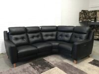 Compact Collection Bijoux Electric Recliner Small Corner Sofa