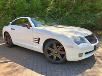 CHRYSLER CROSSFIRE 3.2 V6**SRT6 LOOKS**WHITE/BLACK LEATHERS**mercedes slk320.amg slk280
