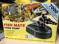 Fish mate 7000 pond pump