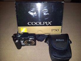 Nikon Coolpix P50 Digital Camera