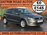 2013 VOLKSWAGEN POLO MATCH 1.2 ** FINANCE AVAILABLE WITH NO DEPOSIT **
