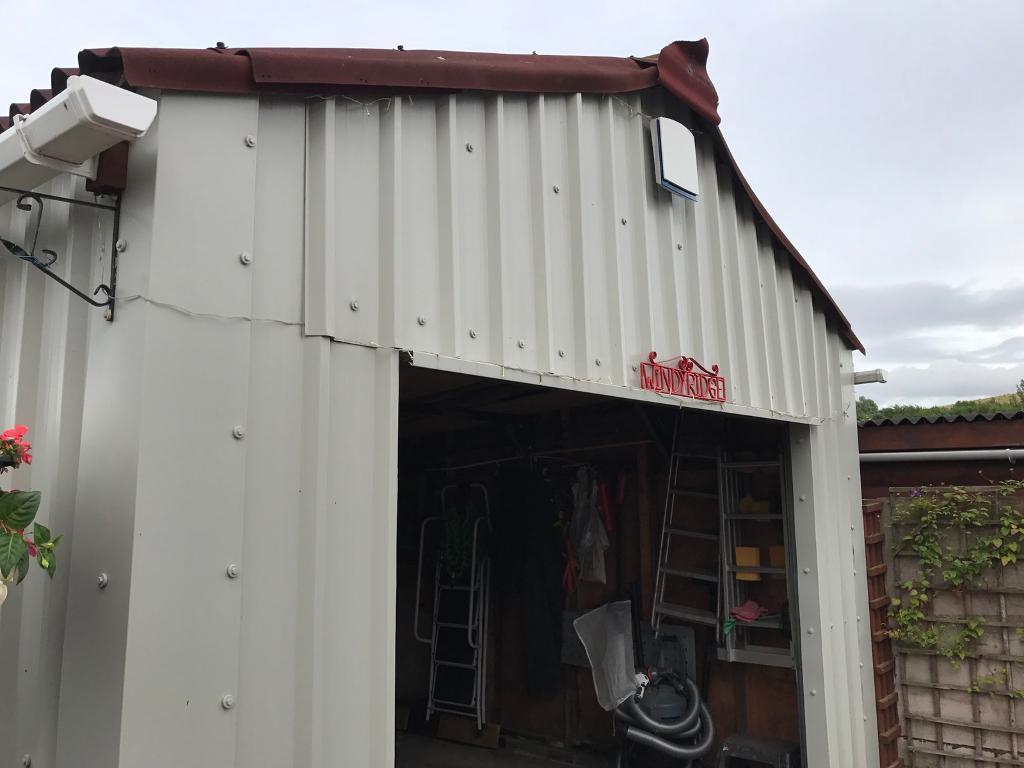 Wooden garages in nottinghamshire - Industrial Grade Cladding For Sheds Or Garages