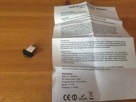 Bluetooth USB V2.1 Adapter