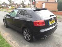 AUDI A3 2.0 TDI S LINE BLACK EDITION FULLY LOADED TOP SPEC