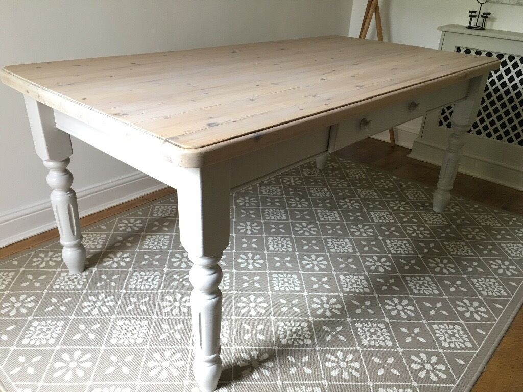 Shabby Chic Country Style Kitchen Dining Table With Drawer In Wallington London Gumtree