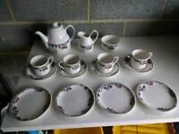 Pretty floral Tea Set
