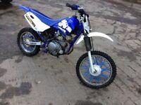 2004 Yamaha Ttr 125cc four stroke