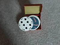 Waddington round playing cards