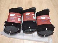 Brand new 6 pairs Cushioned Work Socks, Boots Socks Sports