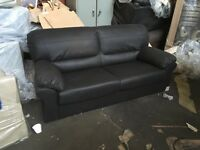 Wow candy 3+2 in faux leather ex display sofas still in good condition,can arrange delivery,bargain