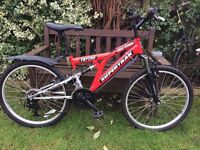 SUPERTRAK MOUNTAIN BIKE (SECOND HAND REFURBISHED) £55