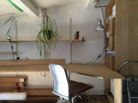 Desk Space in Creative Studio / Leyton