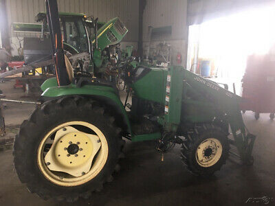 2003 John Deere 4210 4x4 Compact Tractor W Loader Only 900 Hours