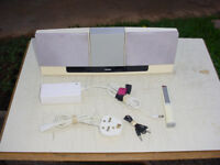 Jamo i200 iPhone or iPod Dock with Remote Control, PSU and Input cable