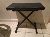 Keyboard stool, needs a couple of screws.