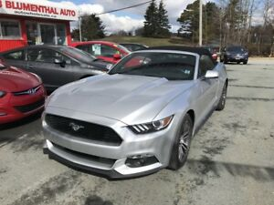 2017 Ford Mustang Ecoboost Premium Convertible - Leather - Co...