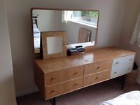 Mayhew bedroom furniture - wardrobe and dressing table