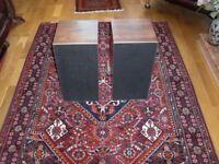 Vintage Mid 70's Bang & Olufsen Beovox 3702 Speakers