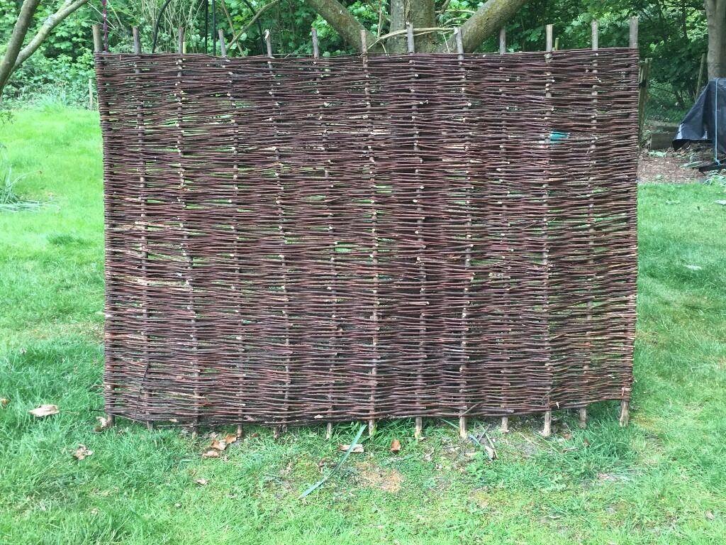 Willow fence panels 4 foot high in norwich norfolk gumtree willow fence panels 4 foot high baanklon Choice Image