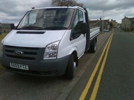 ford transit pick up 2009