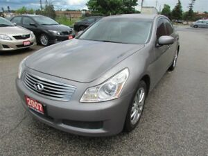 2007 Infiniti G35 G35X, 3.5L, 4WD, SUNROOF, LEATHER, POWER GROU.