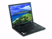 IBM Lenovo Thinkpad T60, 14.1' screen, Intel Core Duo, 80GB HDD, 1.5GB RAM, Windows 10 Prof.