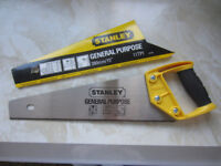 stanley hand saw NEW