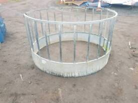 Selection of round bale ring feeder sheep horse farm livestock tractor