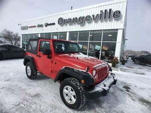 2014 Jeep Wrangler SPORT, MANUAL, ALLOYS, SOFT TO